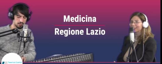Intervista a Medicina Regione Lazio