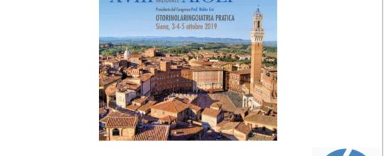 Il Tinnitus Center a Siena per il XVIII Congresso Nazionale AIOLP