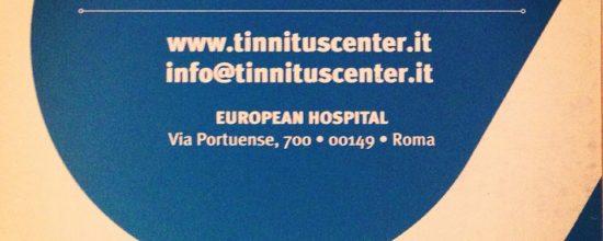 Emergenza COVID-19: Il Tinnitus Center è operativo.
